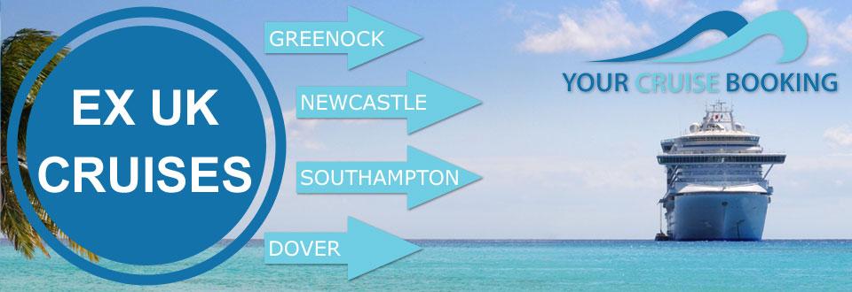 Cruises from UK ports with Ex Uk Cruises