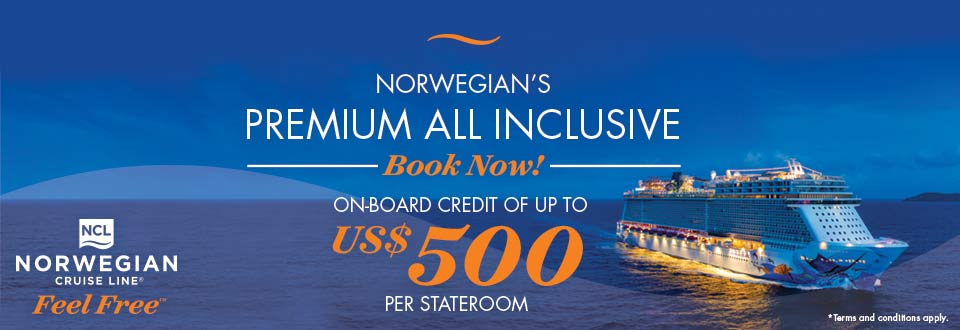Norwegian Cruise Line Offer